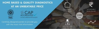 Home Based and Quality Diagnostics at an unbeatable price